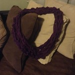 #working hard making #winteraccessories for this cold weather that\'s COMING REAL SOON! Get cozy and warm up w #bodygarbage #slouchybeanies and #infintyscarves #handmade #crotchet #crotchetgoods #crafter #designer #frommyhandstoyou #thebodygarbageway don\'t