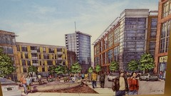 Hamilton Canal District artists rendering