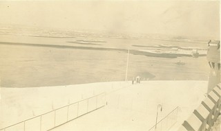 Piscataqua River from Naval Prison, Portsmouth, NH, 10 February 1911