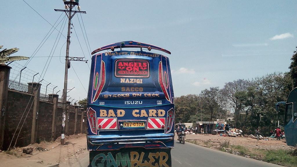 Public Bus in Nairobi