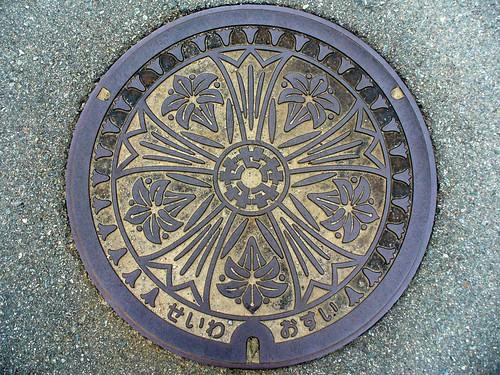Seiwa Mie, manhole cover (三重県勢和村のマンホール)