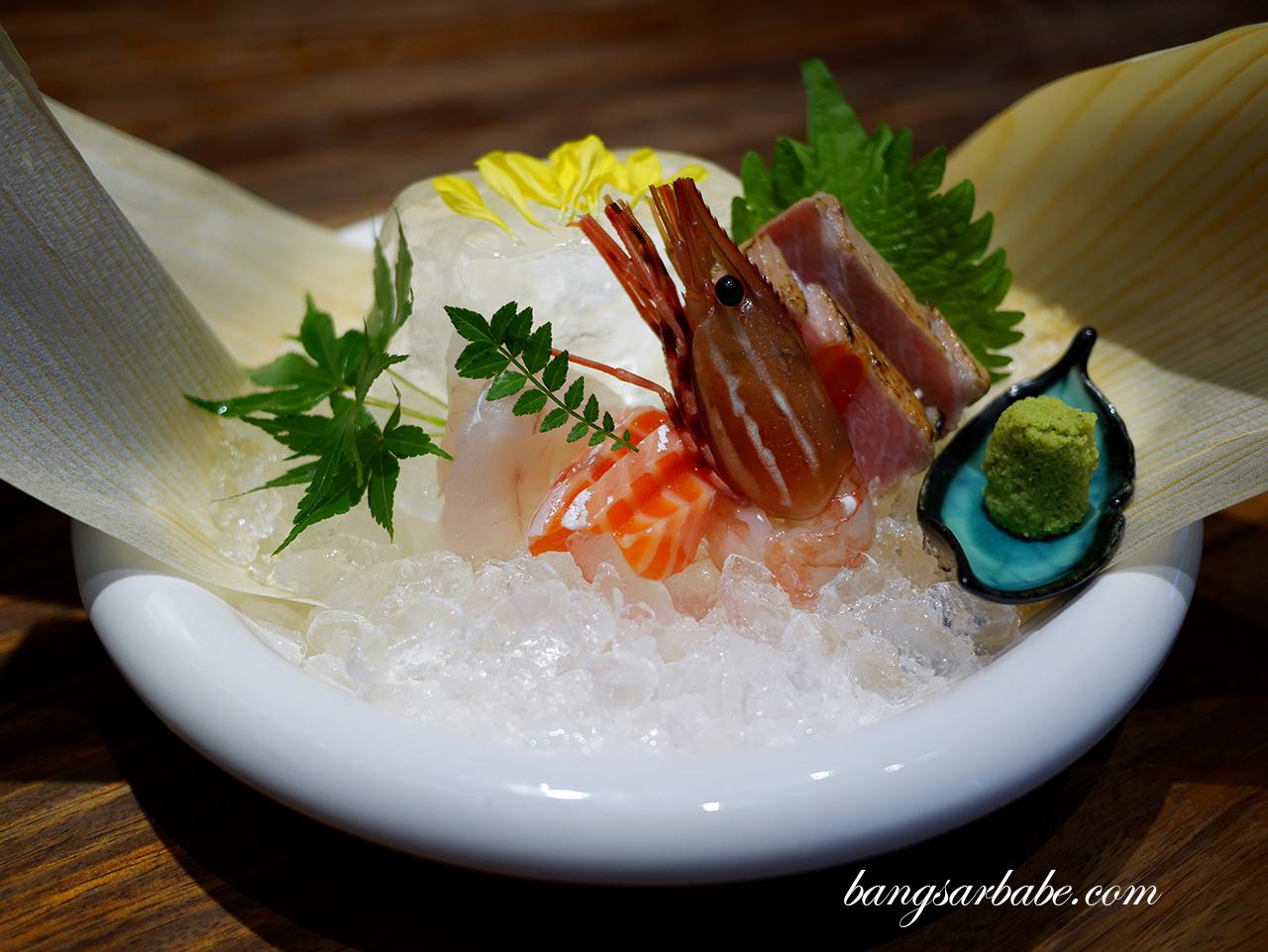 Omakase 7 Course (sashimi)