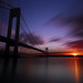 Verrazano Bridge in sunset by 千杯不醉的 drunkcat