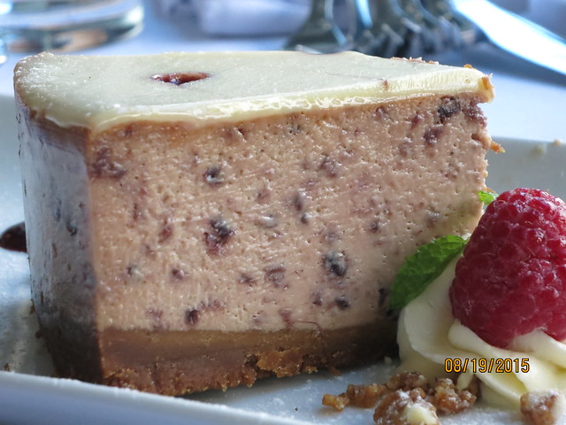IMG_8597: Le Jardin Mixed Berry Cheesecake