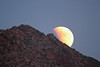 Super Blood Moonrise over Camelback Mountain