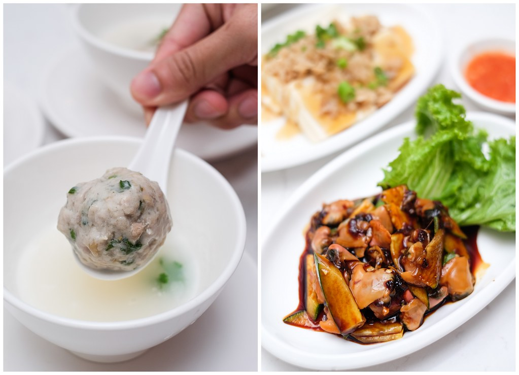 ChaoZhou Porridge: Steamed Meat Ball with Porridge Water