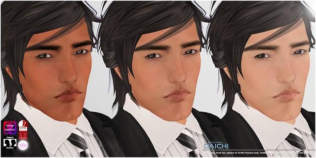 [DBF] Daichi skin shape appliers skin tones AD