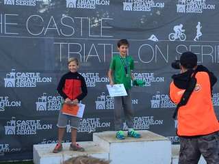 Jake Latham Podium at Hever Castle  2015