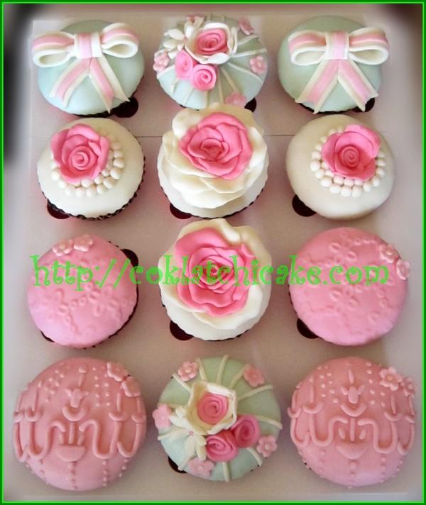 Cupcake bunga