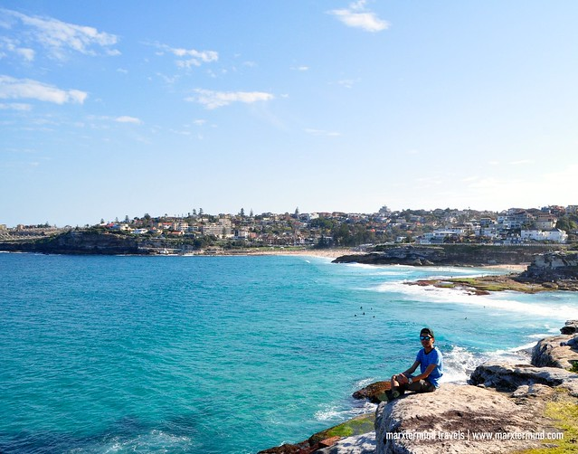Overlooking Tamarama Beach