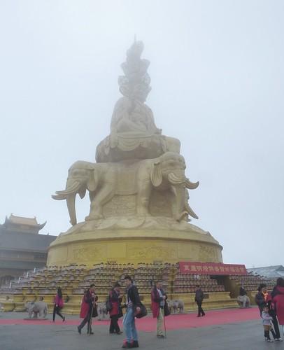 CH-Emeishan-jr2-Sommet d'or-Samantabhadra (10)