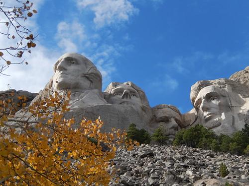 Mount Rushmore - neusgaten