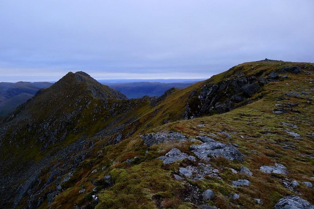 The tops of Sgurr nan Ceathramhnan