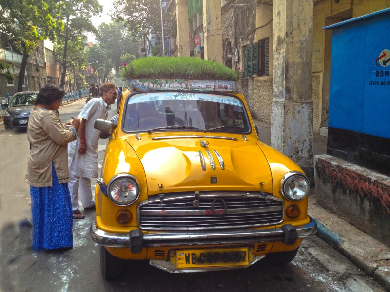 Bapi Green Taxi in Kolkata, India