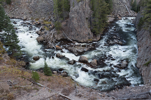 bend in Firehole River
