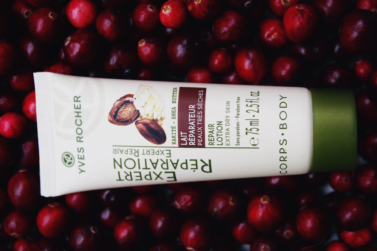 Yves Rocher Extra Dry Skin Lotion repair review