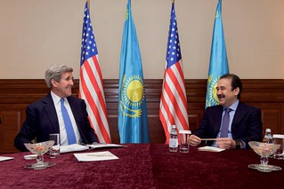 Secretary Kerry Meets With Kazakhstan Prime Minister Massimov in Astana