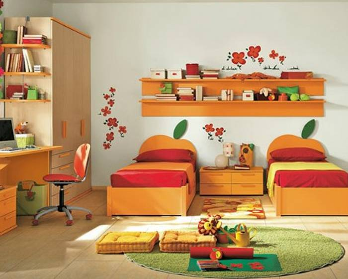 Amazing Kid Bedroom Colorful