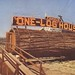 One Log House - Redwood Highway, California by The Cardboard America Archives