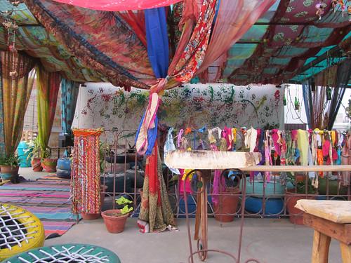 """Jaipur: toit de notre """"palace"""""""