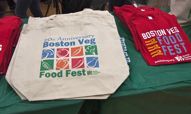 Boston Fodd Fest bags & t-shirts
