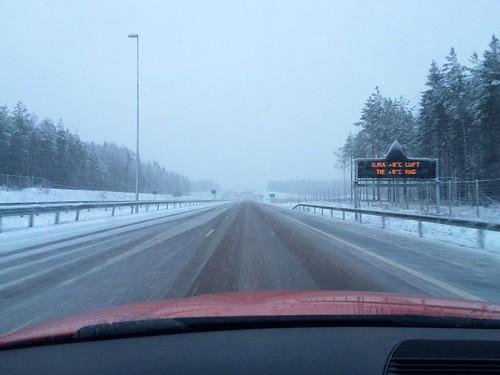 snow finland e18 ontheroadagain pyhtää