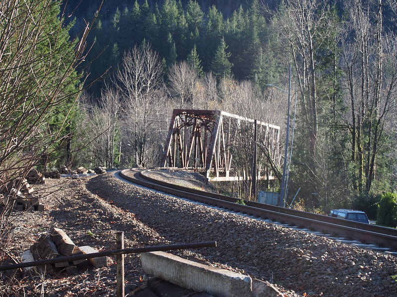 BNSF Bridge over North Fork Skykomish River