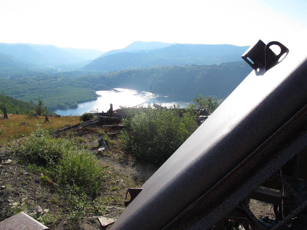 Mount St Helens - Coldwater Ridge Madill 009 Logging Yarder