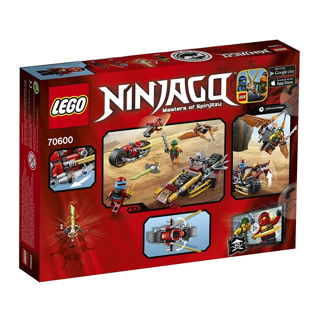 LEGO Ninjago 70600 - Ninja Bike Chase