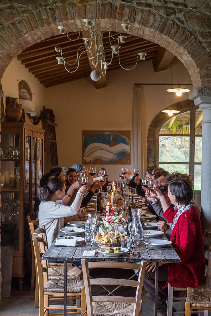 Tuscan Christmas Gathering