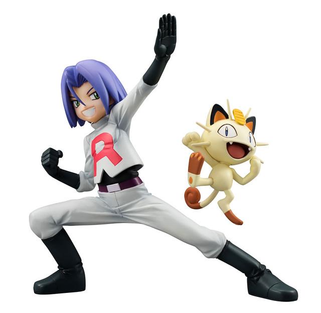 G.E.M.《神奇寶貝》火箭隊成員小次郎 與 喵喵 !