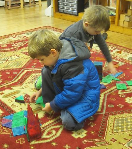 magnatiles for indoor recess