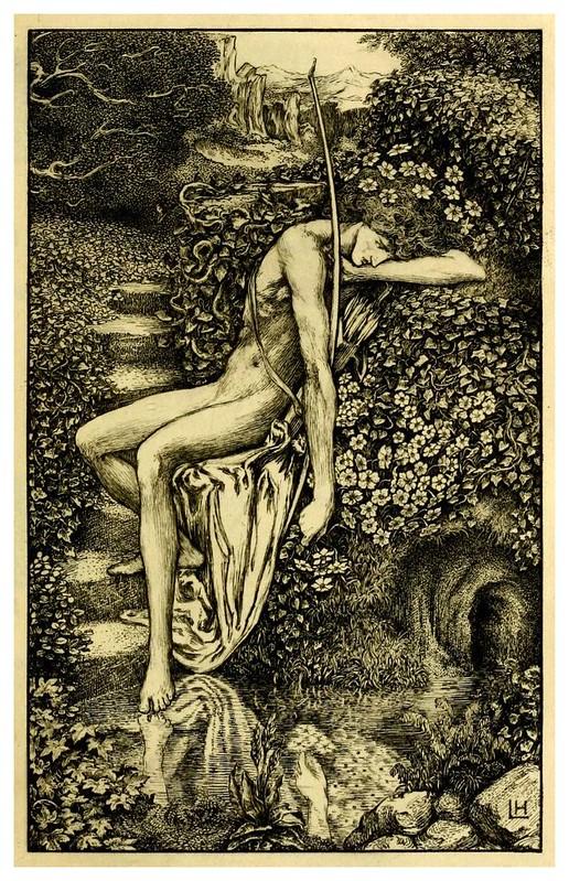 002-The sensitive plant-1899- ilustrado por Laurence Housman