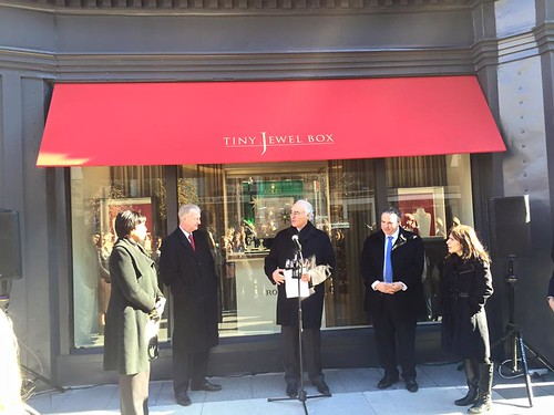 Tiny Jewel Box Ribbon Cutting Ceremony
