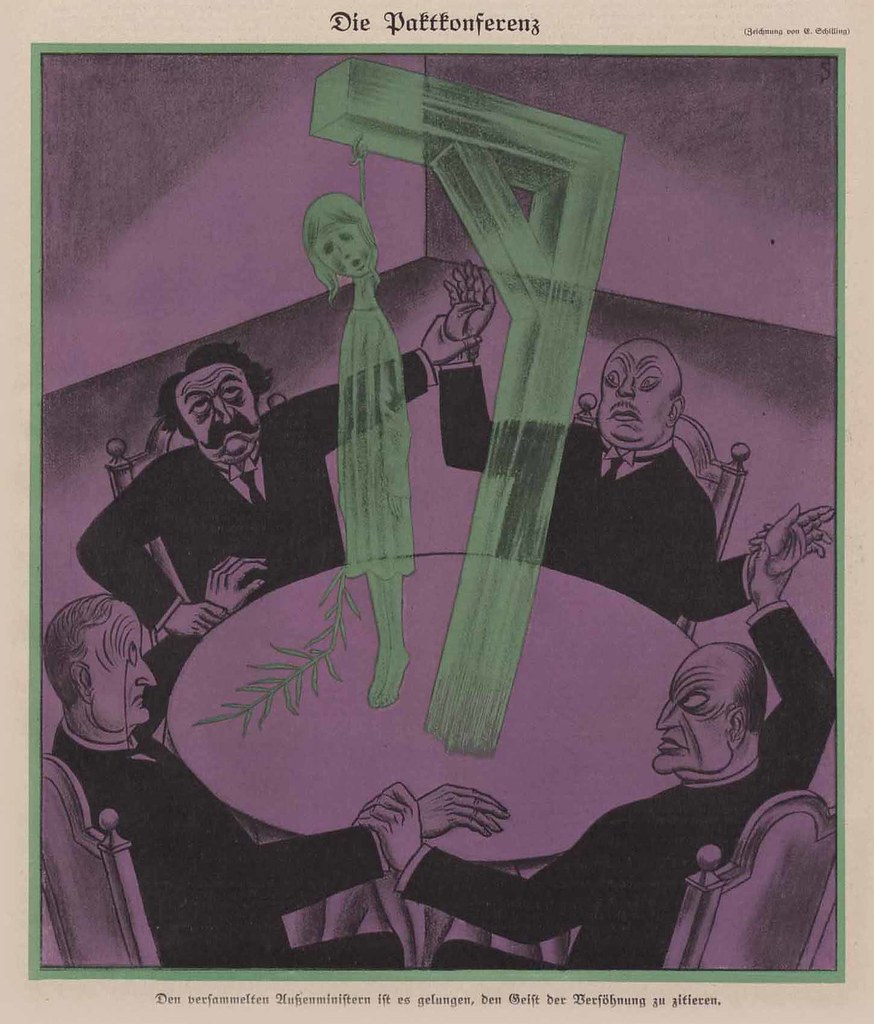 Erich Schilling - The Pact Conference, 1925