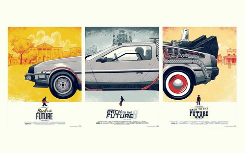 Back to the Future - Trilogy Poster 4