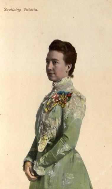 Queen Victoria of Sweden, nee Princess of Baden