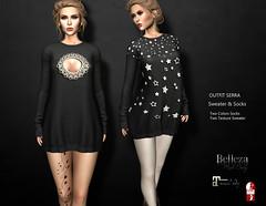 -Sentinus-Serra Sweater & Socks Outfits