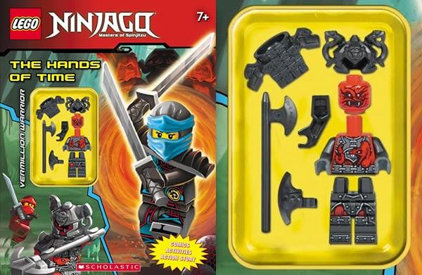 Lego Ninjago Hands of time activity book