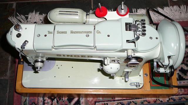 Singer 319K Sewing Machine - top