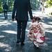Little Tokyo . . . . #japan #travel #asia #street #urban #kimono #culture #meiji #fun #camera #leicam8 #leica #leicacraft #summer #cool #portrait #photography #japanese #tokyo #family #love #youth #beauty #art #temple #business #