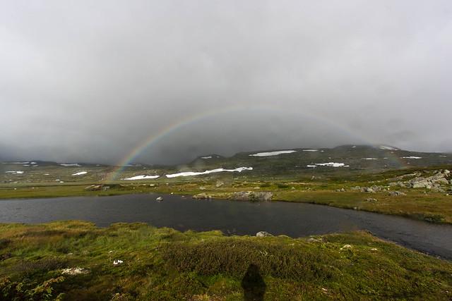 Skyggen og regnbuen