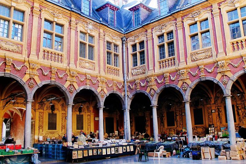 Drawing Dreaming - Guia de Visita de Lille - Marché La Vieille Bourse