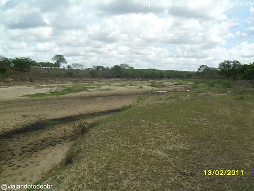 Craíbas - Rio Ribeira seco a caminho de Major Isidoro