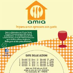 Lezioni di cucina Amia, impara a non sprecare con gusto