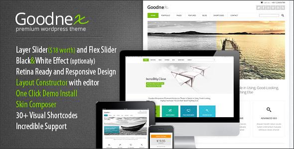 Goodnex v1.1.5 - Creative Design Agency Responsive WordPress Theme