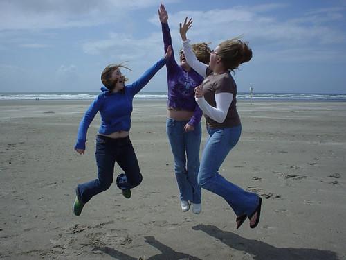 jump - high five