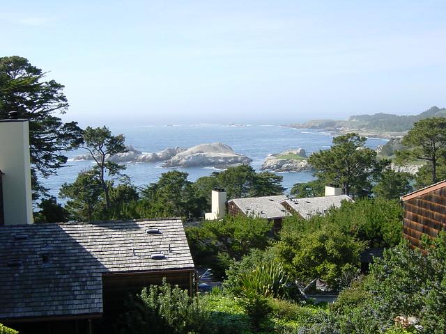 Hyatt Carmel Highlands Twin Bed Ocean View
