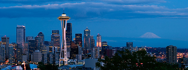 seattle panorama | Flickr - Photo Sharing!