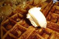 meal, breakfast, belgian waffle, food, dish, cuisine, waffle,
